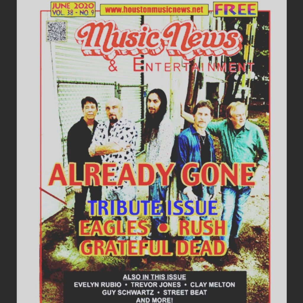 Already Gone Cover of Houston Music News