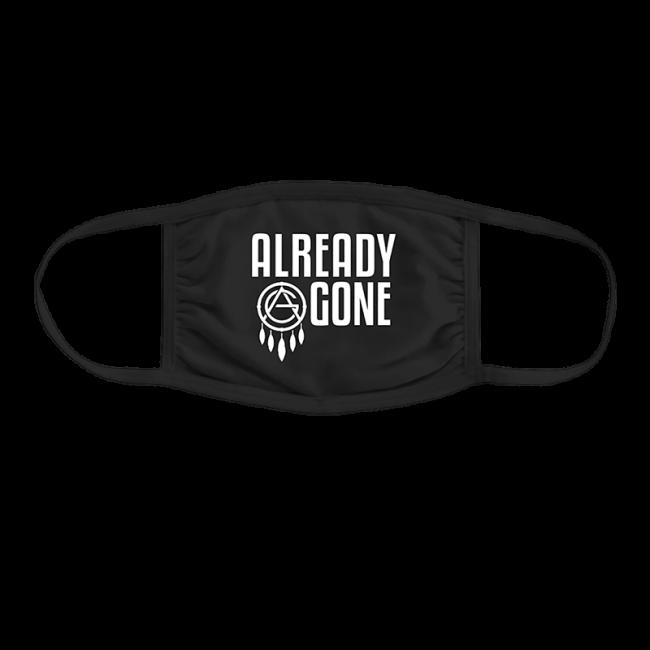 AG logo black face mask