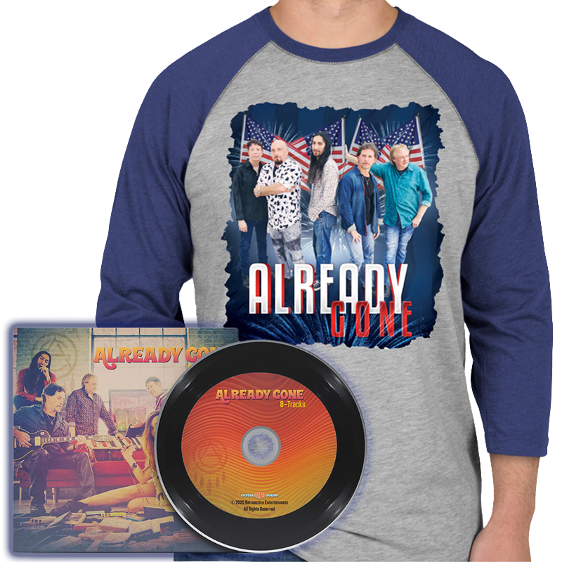 8-Tracks Shirt and CD Combo Offer