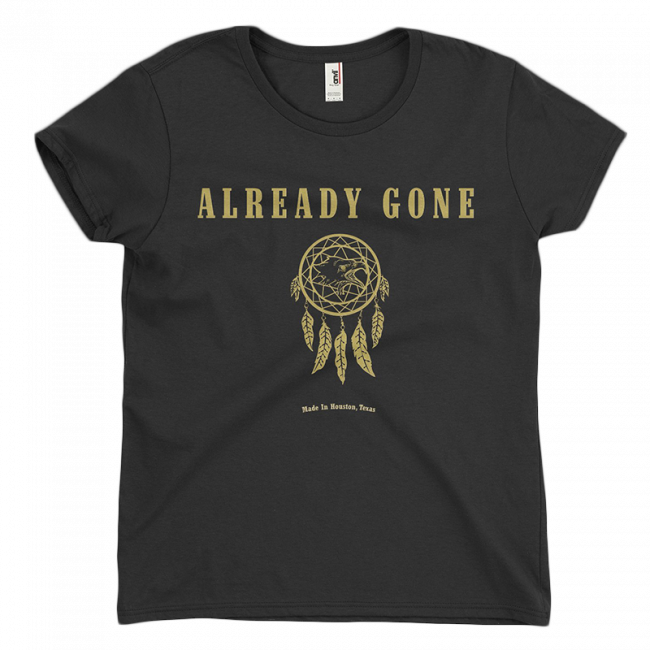 Ladies Gold Foil T-Shirt