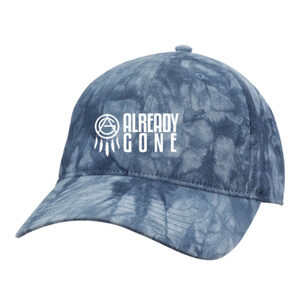 Already Gone Tie-Dye Embroidered Caps